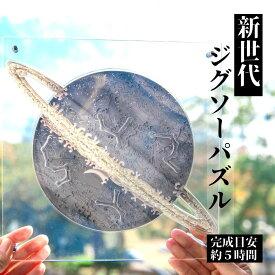 新世代 ジグソーパズル SATURN 土星 宇宙の破片-ソラノカケラ- 専用 フレーム セット おしゃれ な インテリア 大人 の 難しい 惑星 パズル