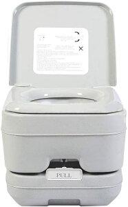 簡易トイレ 防災 おすすめ ポータブル 水洗 トイレ 本格派 寝室 介護用 非常用 水洗式 10L 水洗式で臭いにくく衛生的 携帯トイレ 清潔 快適