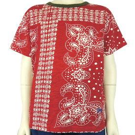 【SALE 50%OFF】PONY GO ROUND(ポニーゴーラウンド) BANDANA S/S Tシャツ (90-150) 半袖 おしゃれ キッズ 男の子 女の子 かわいい 子供服