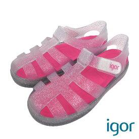 igor (イゴール) STAR ストラップ サンダル(12-16) 靴 おしゃれ キッズ 男の子 女の子 スリッポン かわいい 子供