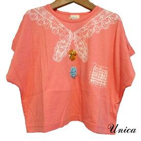 【SALE 50%OFF】UNICA(ユニカ) セーラーさん Tシャツ (80-150) 半袖Tシャツ おしゃれ キッズ 女の子 男の子 かわいい 子供服