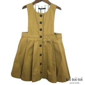 toi toi toi(トイトイトイ) フェリージャンパードレス(100-110) ジャンパースカート おしゃれ キッズ 女の子 かわいい 子供服 日本製
