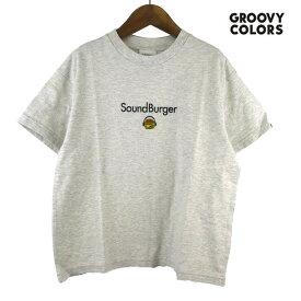 【SALE50%OFF】GROOVY COLORS(グルービーカラーズ) テンジク SOUND BURGER BIG TEE (90-140) 半袖Tシャツ おしゃれ キッズ 男の子 かわいい 子供服