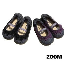 【最終SALE】ZOOM(ズーム)MOHAIR SHOES (12.5-14)【楽ギフ_のし宛書】  靴 おしゃれ ベビー 女の子 スリッポン かわいい 子供 黒 ピンク 入学式 セール セール