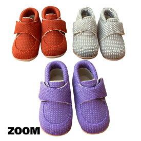 ZOOM(ズーム) 1st WALKING (11-13)【楽ギフ_のし宛書】 靴 おしゃれ ベビー 男の子 女の子 スリッポン かわいい 子供