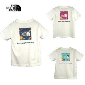 THE NORTH FACE(ノースフェイス)S/S SQUARE LOGO JOSHUA Tee (90-150) 半袖Tシャツ おしゃれ キッズ 男の子 女の子 かわいい 子供服