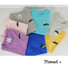 MOMENT(モーメント) FIRST PENGUIN Tシャツ (90-160) 半袖Tシャツ おしゃれ 男の子 女の子 かわいい 子供服