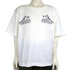 MOMENT(モーメント) MOMENT UP TEMPO BIG Tシャツ (100-150) スニーカー 半袖Tシャツ おしゃれ 男の子 女の子 かわいい 子供服
