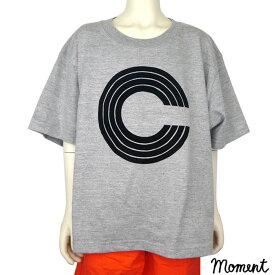 MOMENT(モーメント) CCCC BIG Tシャツ (100-150) 半袖Tシャツ おしゃれ 男の子 女の子 かわいい 子供服