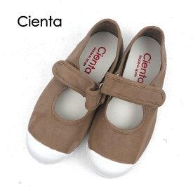 CIENTA(シエンタ)ベルクロワンストラップ シューズ DYED (12-21) 靴 おしゃれ キッズ 男の子 女の子 かわいい 子供