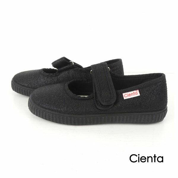 CIENTA(シエンタ)ベルクロワンストラップ LAME (14-21) 靴 おしゃれ キッズ 男の子 女の子 フォーマル かわいい 子供