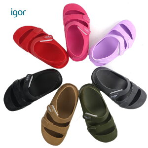 igor (イゴール) ストラップ サンダル(12-16cm) 靴 おしゃれ キッズ 男の子 女の子 スリッポン かわいい 子供