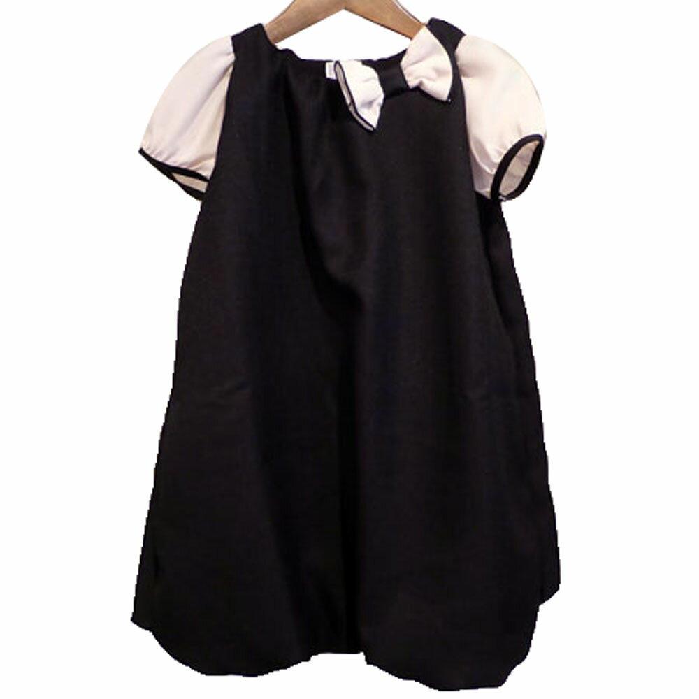【SALE 30%OFF】LaLa Dress(ララドレス) セレモニーバルーンワンピース (90-140) ワンピース 入学式 おしゃれ キッズ 女の子 かわいい 子供服 日本製