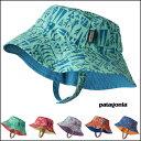 【DM便送料無料】PATAGONIA(パタゴニア)Baby Sun Bucket Hat (48-53) ハット 帽子 おしゃれ キッズ 男の子 女の子 かわい...