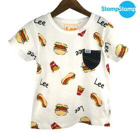 【SALE50%OFF】STOMP STAMP(ストンプスタンプ) LEE コラボ ジャンクフードTシャツ (90-140) 半袖Tシャツ 子供服 男の子 女の子