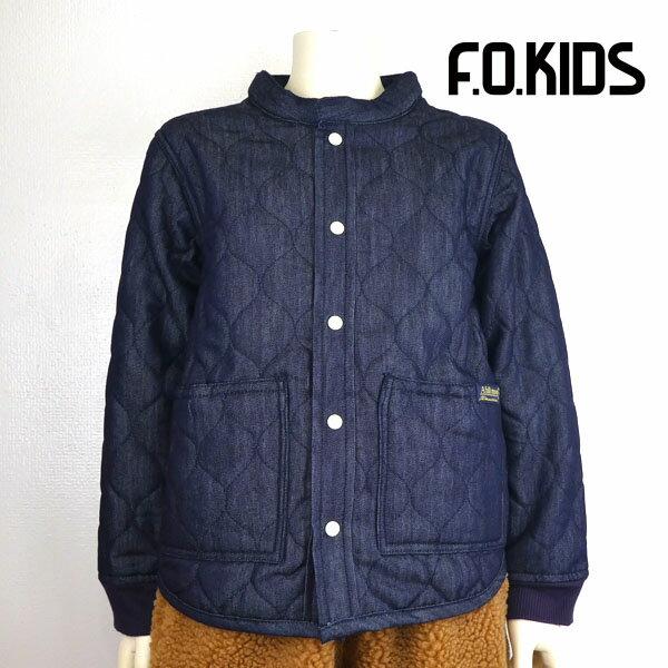 F.O KIDS (エフオーキッズ) 中綿キルトシャツ (120-140) アウター 子供服 男の子 女の子 おしゃれ
