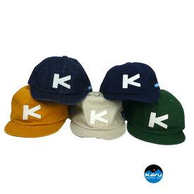 【ポスト投函便送料無料】KAVU(カブー) ベースボールキャップ 帽子 おしゃれ ジュニア メンス レディース お揃い