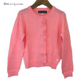 Little s.t.closet (STクローゼット) フリル ニット カーディガン(100-130cm) おしゃれ キッズ 女の子 かわいい 子供服