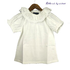 【SALE 50%OFF】Little s.t.closet (STクローゼット) ピエロTシャツ (80-130) 半袖Tシャツ おしゃれ キッズ 女の子 かわいい 子供服 セール