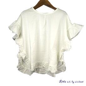 【SALE 50%OFF】Little s.t.closet (STクローゼット) クッションプルオーバー (90-130) 半袖Tシャツ おしゃれ キッズ 女の子 かわいい 子供服 セール