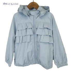 Little s.t.closet (STクローゼット) フリル ナイロンジャケット (100-130cm) おしゃれ キッズ 女の子 かわいい 子供服