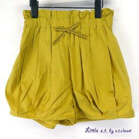 Little s.t.closet (STクローゼット) タック バルーン ショーツ (90-130cm)ショートパンツ おしゃれ キッズ 女の子 かわいい 子供服