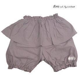 【SALE 50%OFF】Little s.t.closet (STクローゼット) 5分丈ペプラムパンツ(80-130) ショートパンツ おしゃれ キッズ 女の子 かわいい 子供服 セール