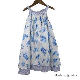 【SALE 50%OFF】Little s.t.closet (STクローゼット) サンドレス (100-130) ワンピース おしゃれ キッズ 女の子 かわいい 子供服 セール