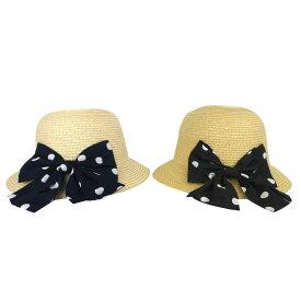 【SALE】Little s.t.closet (STクローゼット) ブレード リボンハット 帽子(50-56)麦わら おしゃれ キッズ 女の子 かわいい 子供服 セール