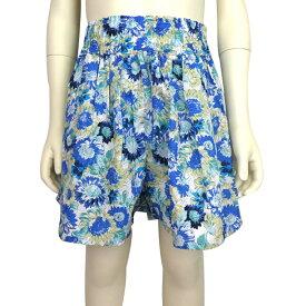 【SALE 50%OFF】Little s.t.closet (STクローゼット) 花柄プリント キュロットパンツ (100-130)  おしゃれ キッズ 女の子 かわいい 子供服 セール
