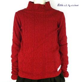 【SALE 50%OFF】Little s.t.closet (STクローゼット) ハイネックロンT (90-140) おしゃれ キッズ 女の子 かわいい 子供服 セール