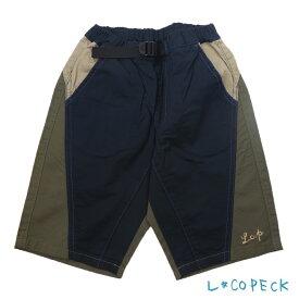 L.COPECK(コペック)バーバリークレイジーショーツ (100-140) ハーフパンツ 子供服 男の子 女の子 おしゃれ