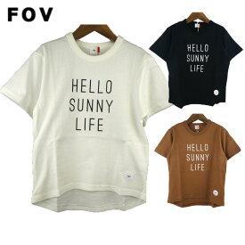 FOV (フォブ) H.S.L Tシャツ(90-160) 半袖Tシャツ 子供服 男の子 女の子 キッズ ジュニア おしゃれ