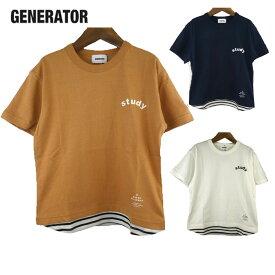 GENERATOR (ジェネレーター) DN Tシャツ(90-160) 半袖Tシャツ キッズ 子供服 ジュニア 男の子 女の子 おしゃれ