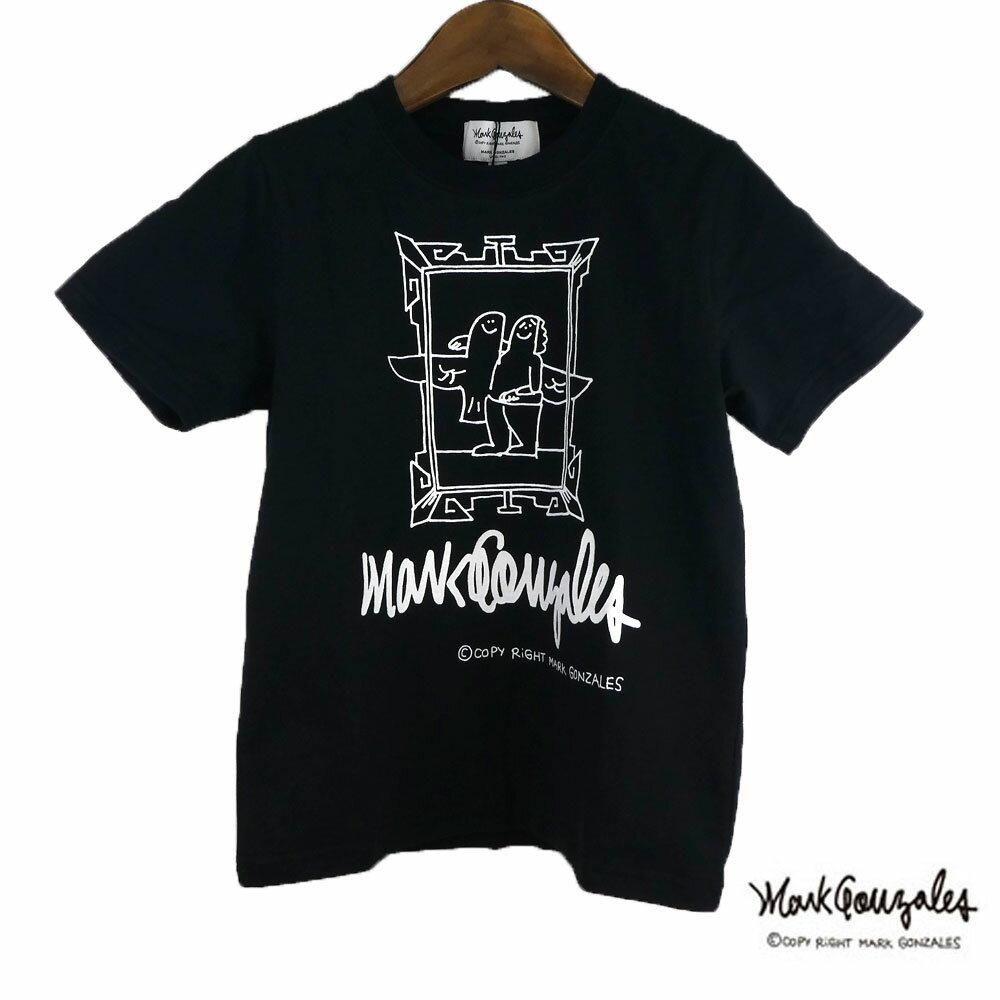 MARK GONZALES(マークゴンザレス)プレーンボディープリントTシャツ(120-150) 半袖Tシャツ 子供服 キッズ ジュニア おしゃれ 男の子 女の子