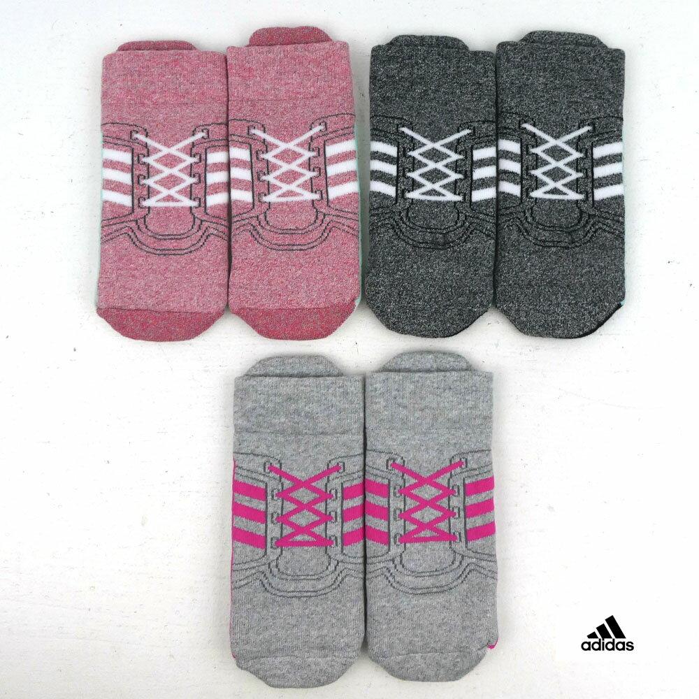 adidas(アディダス) 3P アンクルソックス(10-19cm) 靴下 おしゃれ キッズ 男の子 女の子 かわいい 子供