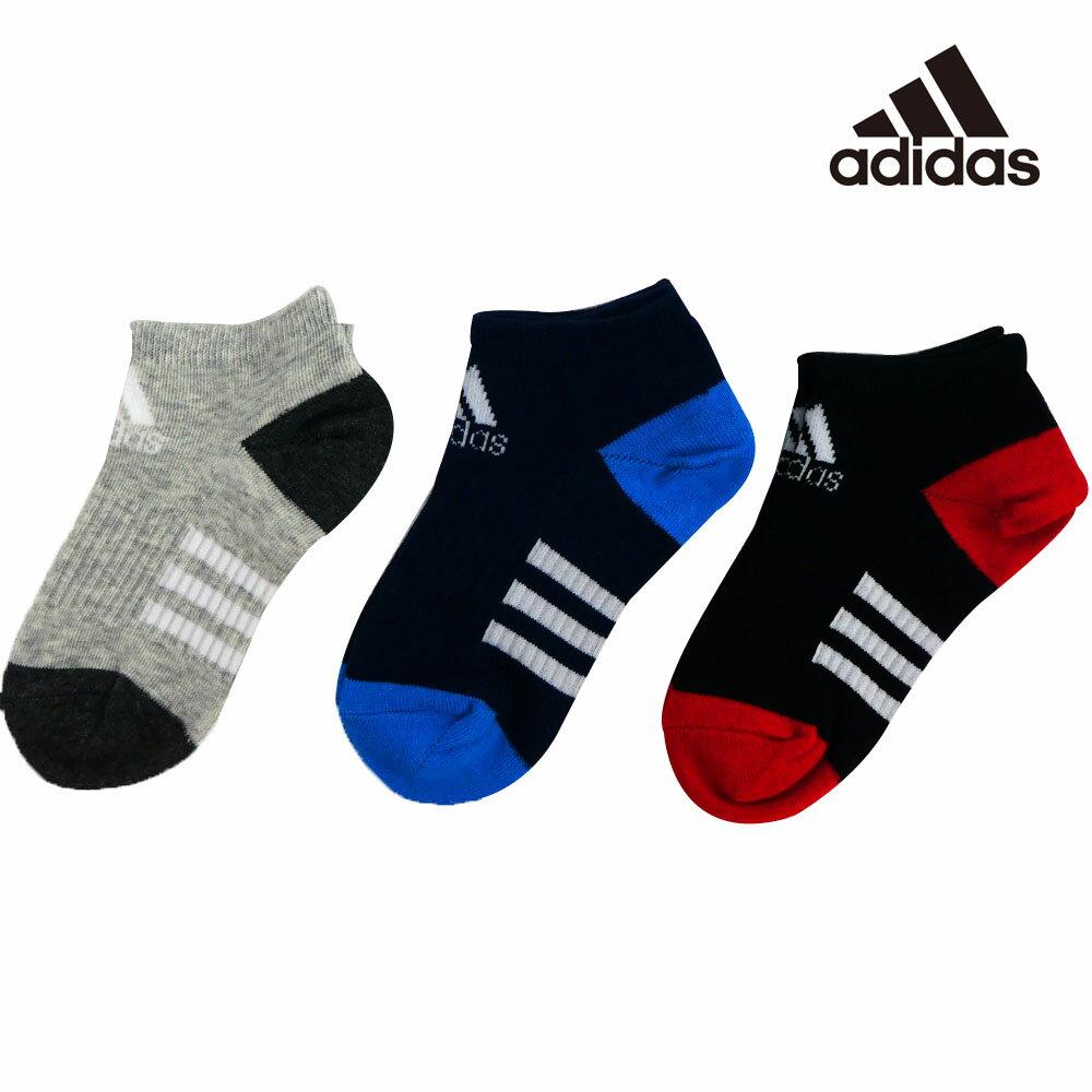adidas(アディダス) キッズ3P アンクルソックス(19-23cm) 靴下 おしゃれ キッズ 男の子 女の子 かわいい 子供