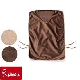 発熱毛布 エコでウォーム ベスト Sサイズ オーシン ブラウン キャメル