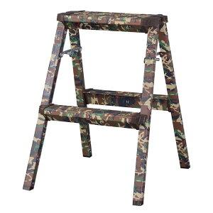 【クーポン配布中※期間限定】【2段】ステップスツール【折りたたみ式】/ステップ 台 ステップチェア ステップチェアー 踏み台 椅子 イス いす チェア チェアー 折り畳み おりたたみ 折り