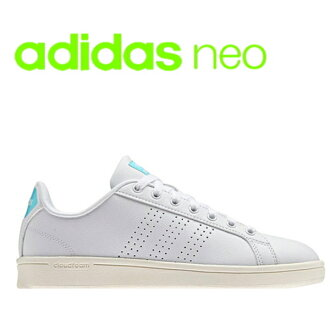 Adidas adidas Lady's sneakers AW3975 cloud form bulk Lean adidas neo CLOUDFOAM VALCLEAN●