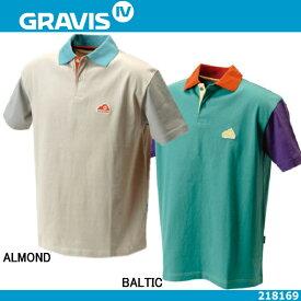 メンズ GRAVIS JPN MULTI PANEL POLO 218169グラビス マルチパネル ポロシャツ