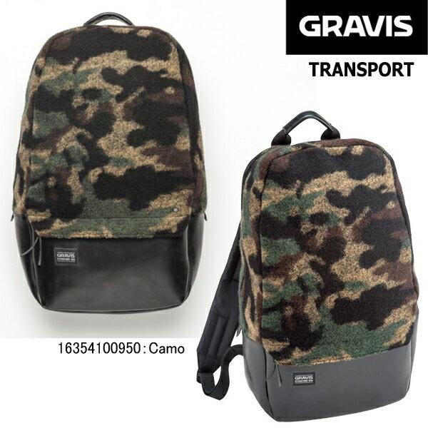グラビス リュック バックパック トランスポート GRAVIS TRANSPORT 3L[46×30×11cm] Camo
