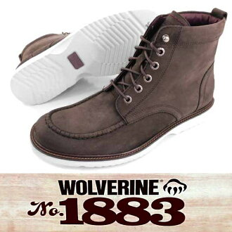 □ [TIG] WOLVERINE MOCK-TOE 6 WEDGE W05432 men work bootswolverin