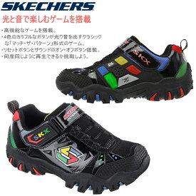 スケッチャーズ キッズ スニーカー ライト&サウンド ゲーム搭載 [91535L] 光と音とゲームが楽しめる skechers