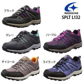 ムーンスター スニーカー 防水 Ag+抗菌防臭 4E レディース SPLT L132 sneaker
