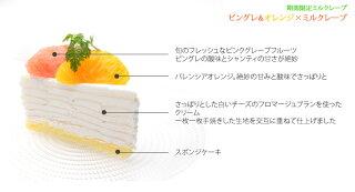 ピングレ&オレンジフロマージュブラン説明