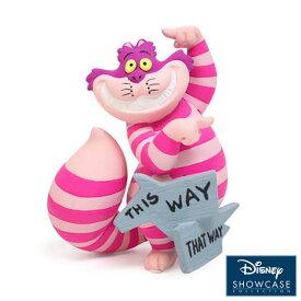 チェシャ猫 ミニ ディスウェイ【Disney Showcase】 ディズニー ショーケース フィギュア 置物 インテリア ギフト プレゼント お祝い ふしぎの国のアリス アリスEnesco社認定 日本正規総代理店 #6008699