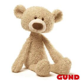 """ベビートゥースピック ベージュベア Toothpick, 15""""【GUND ガンド】 ぬいぐるみ ヌイグルミ 手触りふわふわ 赤ちゃん 出産祝い テディベア くま クマ 熊 Bear かわいい GUND社認定 日本正規総代理店 #4040131"""