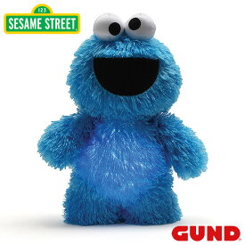 【送料無料】SESAME STREET セサミストリート クッキーモンスター Cookie Monster ナイトライト Glow Pal【GUND ガンド】ぬいぐるみ 手触りふわふわ キャラクター グローパル おやすみ 灯り ベビー 赤ちゃん 出産祝いGUND社認定 日本正規総代理店 #4060048