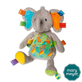 タギーズ リトルリーフエレファント【Mary Meyer】メリー マイヤー メアリー マイヤー ぬいぐるみ ヌイグルミ Taggies 手触りふわふわ ぞう ゾウ 象 Elephant かわいい プレゼント ギフト 誕生日 こども 子ども 赤ちゃん ベビー 出産祝い 正規品 #40183